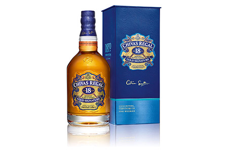 Chivas Regal 18 Years Old Gold